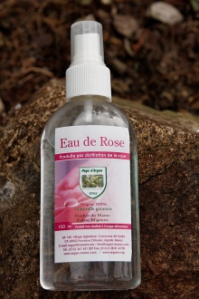 Eau de Rose 100% naturel